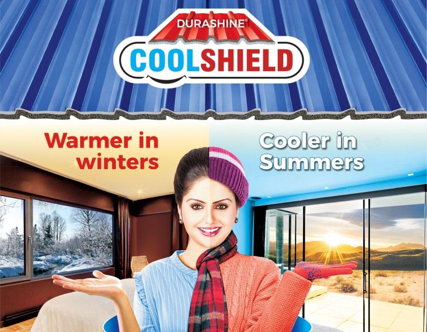 Durashine cool shield roofing sheet
