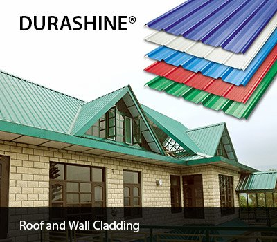 DURASHINE®  metal roof and wall caldding