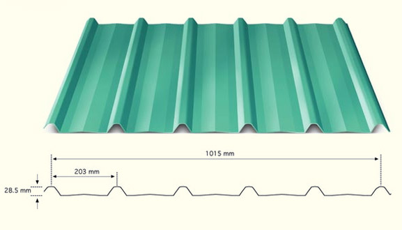 Roofing Sheet Manufacturer Industrial Roofing Sheet