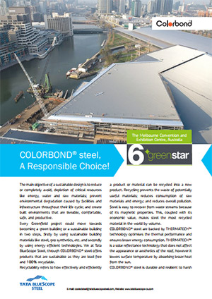 COLORBOND® Case Study Environment Friendly Product