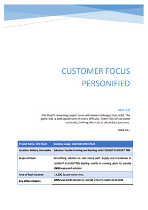 customer focus personified 2