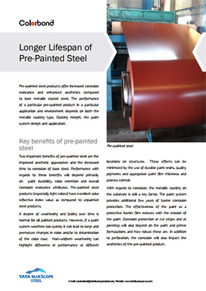 COLORBOND® Case Study Longer LifeSpan