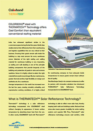 COLORBOND® Case Study steel with THERMATECH™ Technology