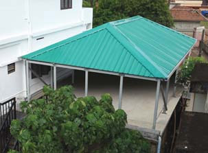 Roof Top Shed
