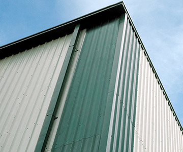 PEB Wall Cladding systems