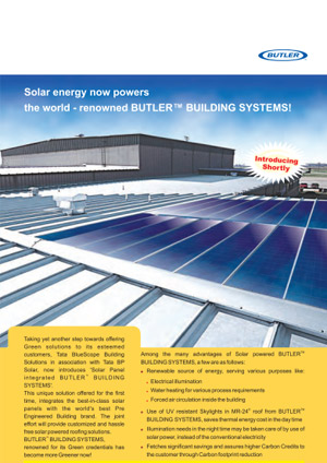 Butler solar energy