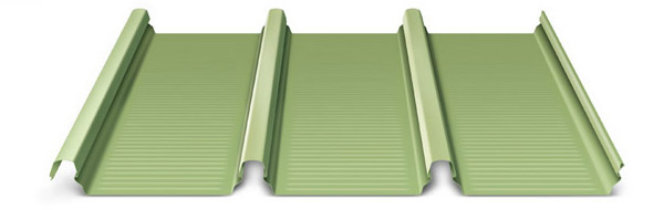 KLIP-LOK™ is a durable roof cladding profile