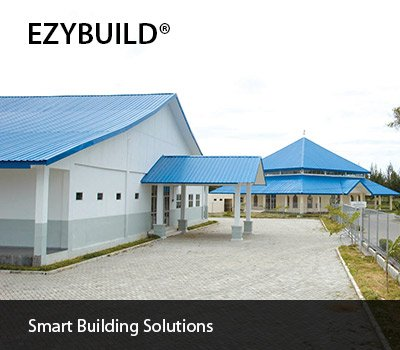 EZYBUILD® prefabricated steel buildings