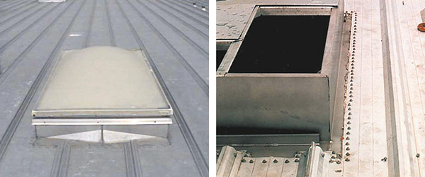 fully engineered roof openings and curbs