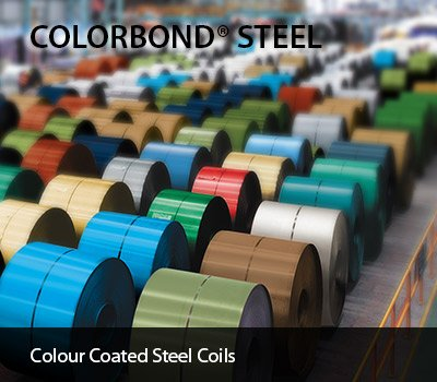 colorbond is themost advanced pre coated steel