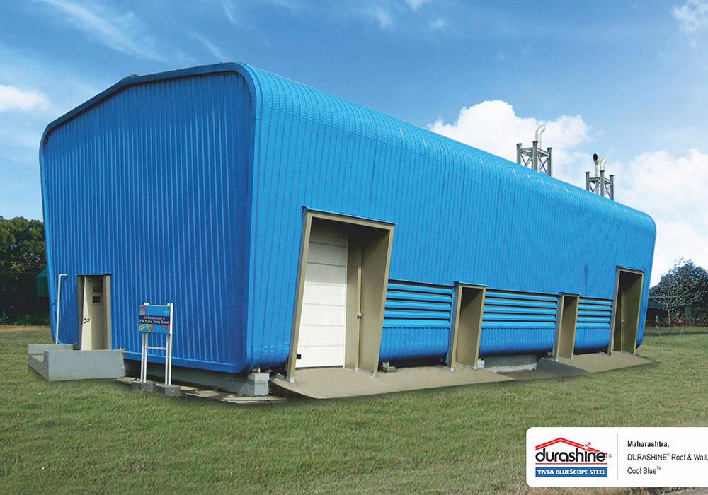 Crimp Roofing Sheets Suppliers Durashinetata Bluescope