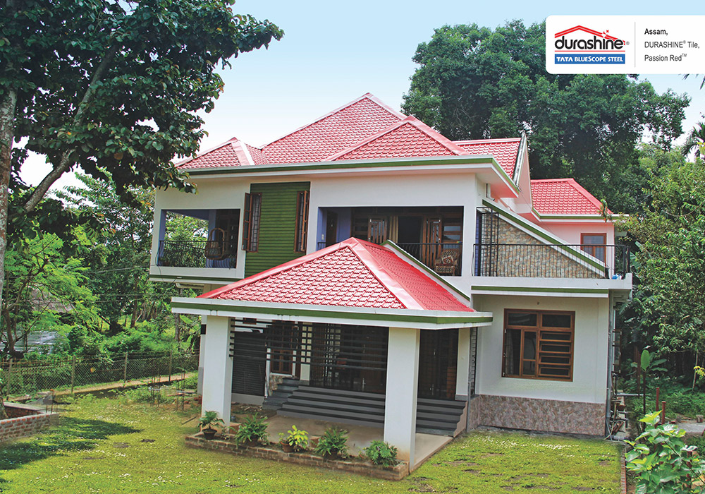 Durashine 174 Steel Roofing Tile Tata Bluescope Steel