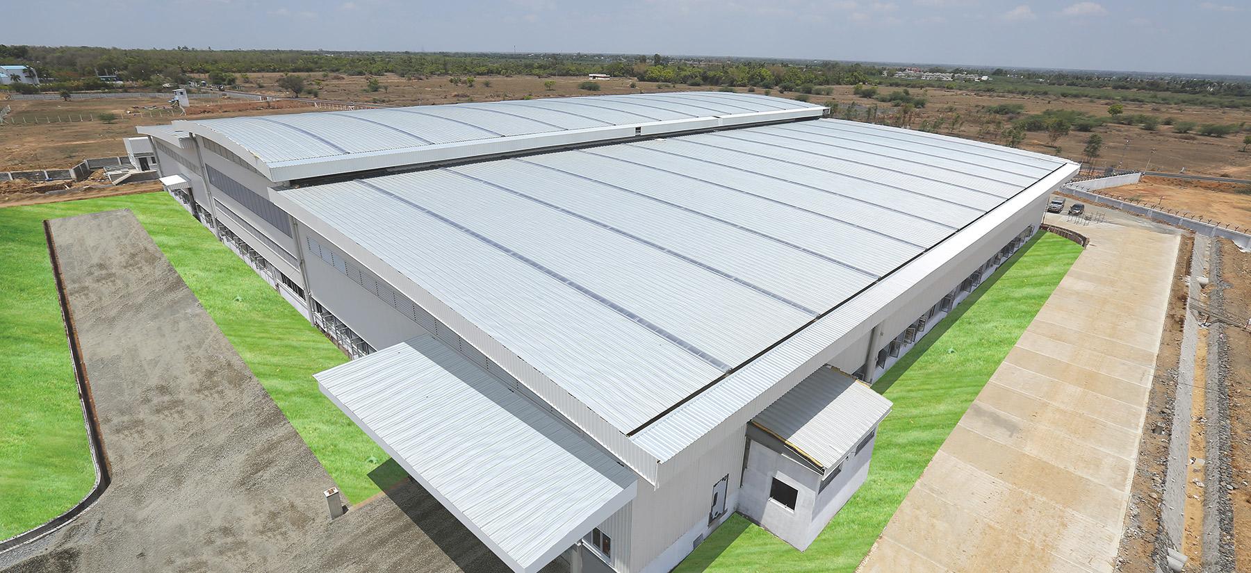 ZINCALUME steel used in industrial sector