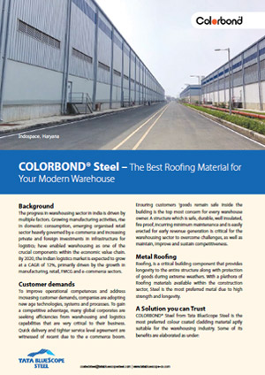 COLORBOND® Case Study Powering Warehouse Efficiency