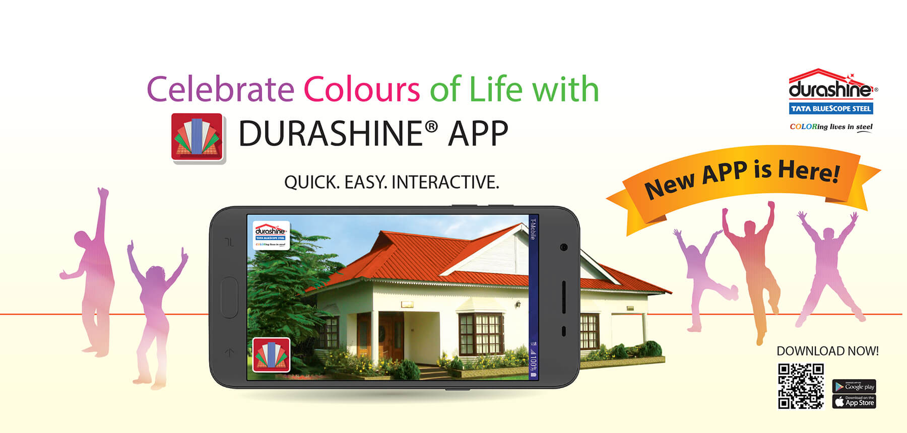 DURASHINE® Metal Roofing Sheets, Color Coated Sheets ...