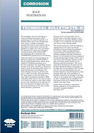 roof penetration bulletin