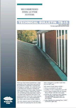 recommended steel gutter systems