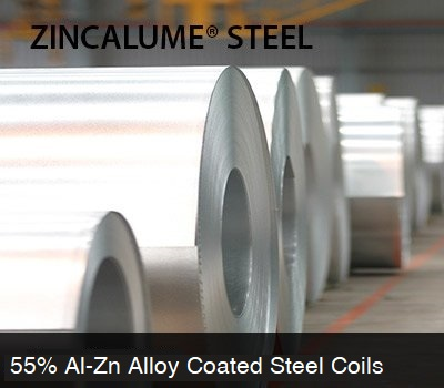 zincalume steel is worlds leading alloy coated steel