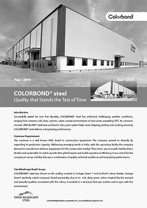 COLORBOND® Case Study Quality that Stands the Test of Time