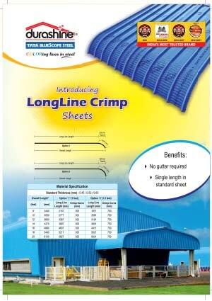 Durashine long line crimp