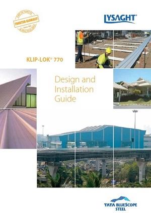 klip lok 770 design guide