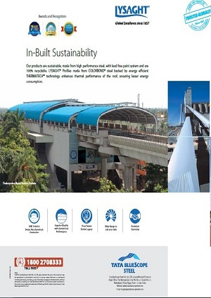 lysaght in build sustainability