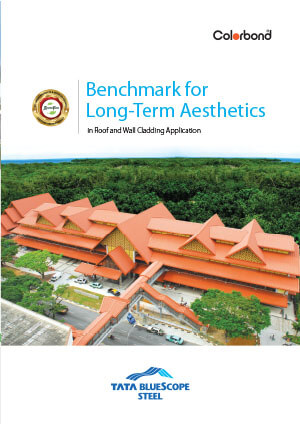 COLORBOND® XRW Benchmark for longterm aesthetics brochure