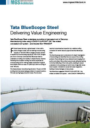 about tata bluescope steel