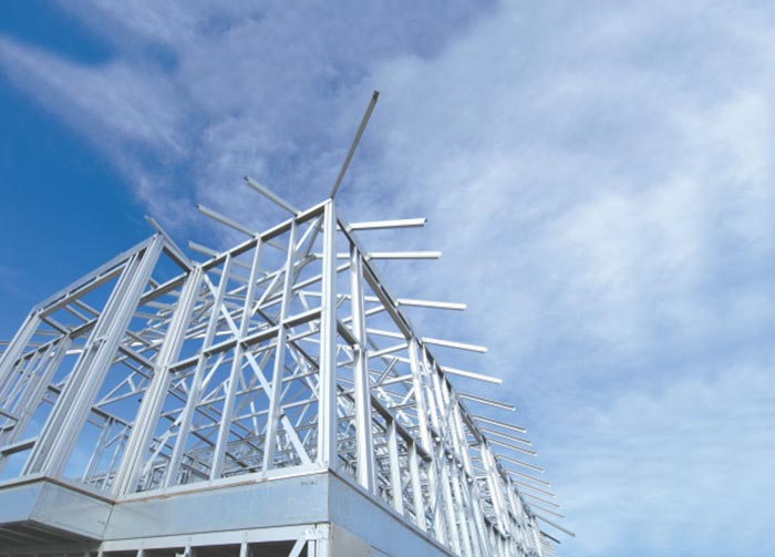 A Smart and sustainable Steel building technology