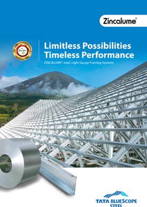 ZINCALUME Steel for LGFS